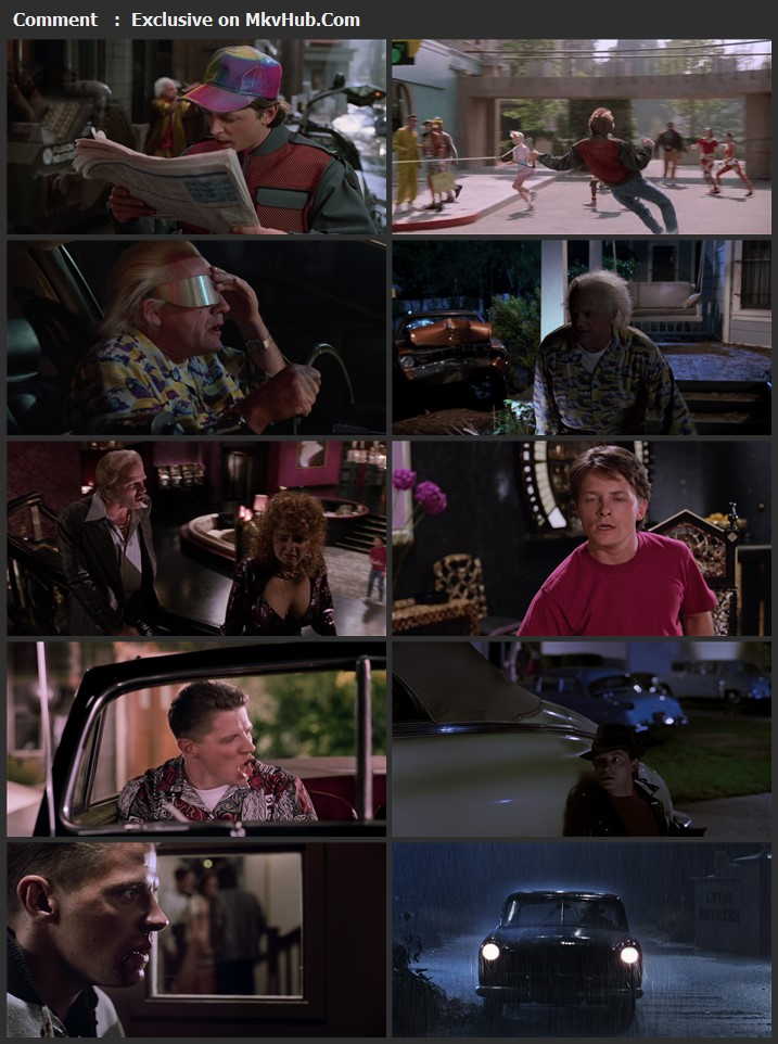 Back to the Future Part II 1989 English 720p BluRay 1.2GB Download
