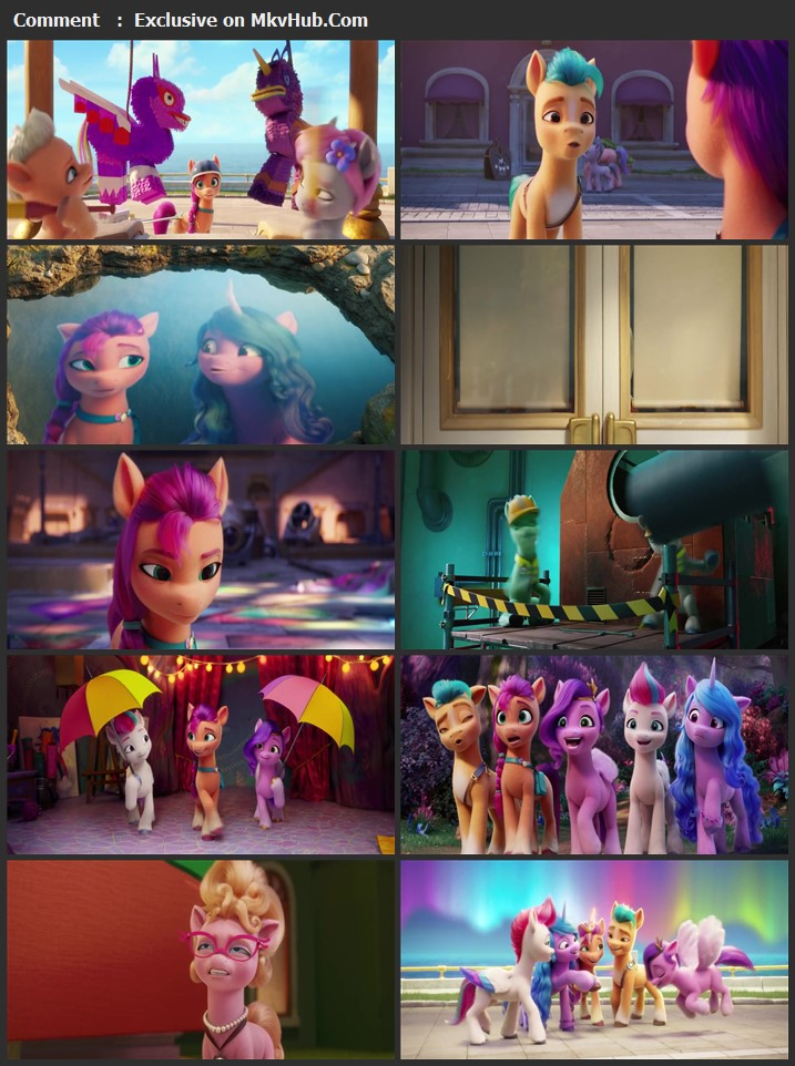 My Little Pony: A New Generation 2021 English 720p WEB-DL 800MB Download