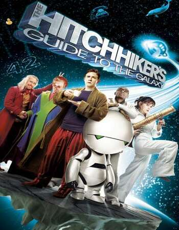 The Hitchhiker's Guide to the Galaxy 2005 English 720p BluRay 1GB Download