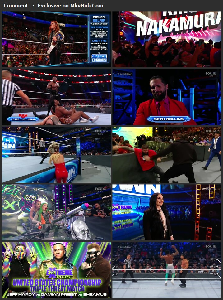 WWE Friday Night SmackDown 24th September 2021 720p WEBRip x264 750MB Download