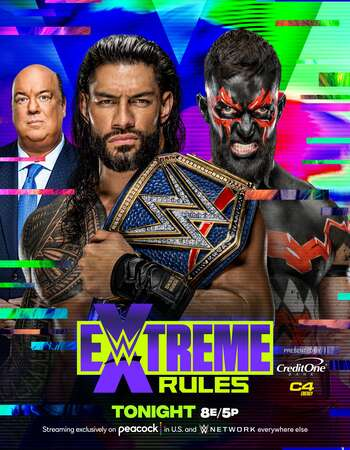 WWE Extreme Rules (26th September 2021) PPV 720p | 480p WEBRip 750MB Download