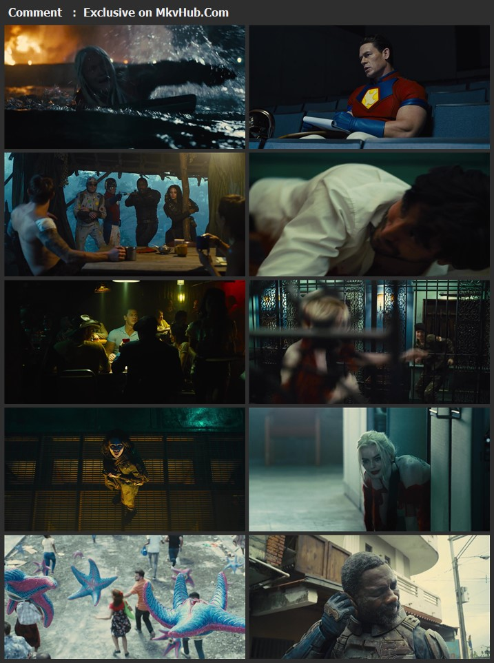 The Suicide Squad 2021 Dual Audio [Hindi-English] 720p WEB-DL 1.2GB Download