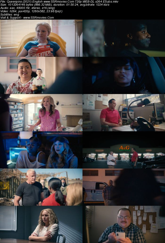 Queenpins (2021) English 720p WEB-DL x264 950MB Full Movie Download