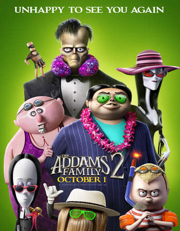 The Addams Family 2 (2021) English 720p WEB-DL x264 800MB Full Movie Download