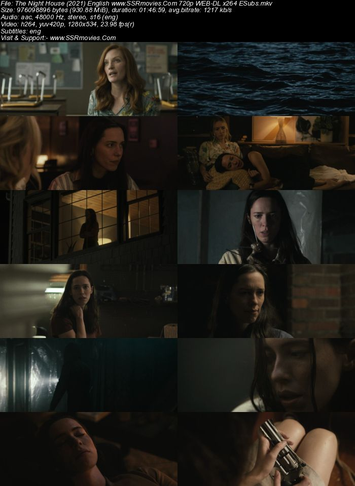 The Night House (2021) English 720p WEB-DL x264 900MB ESubs Full Movie Download