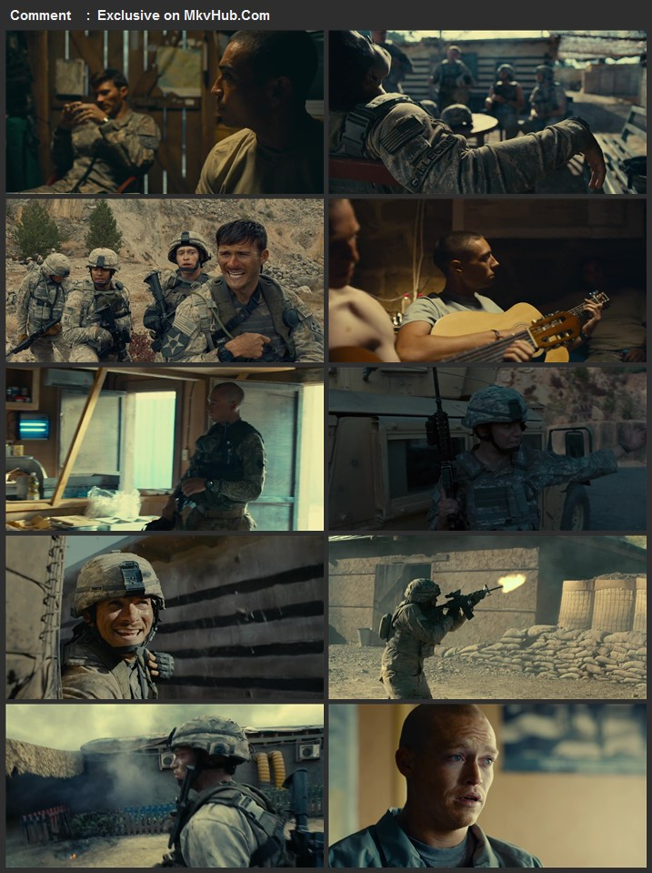 The Outpost 2019 Dual Audio [Hindi-English] 720p BluRay 1.1GB Download
