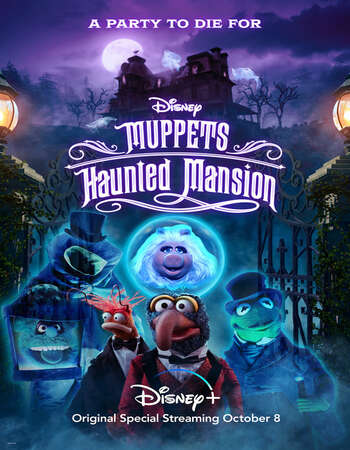 Muppets Haunted Mansion 2021 English 720p WEB-DL 450MB Download