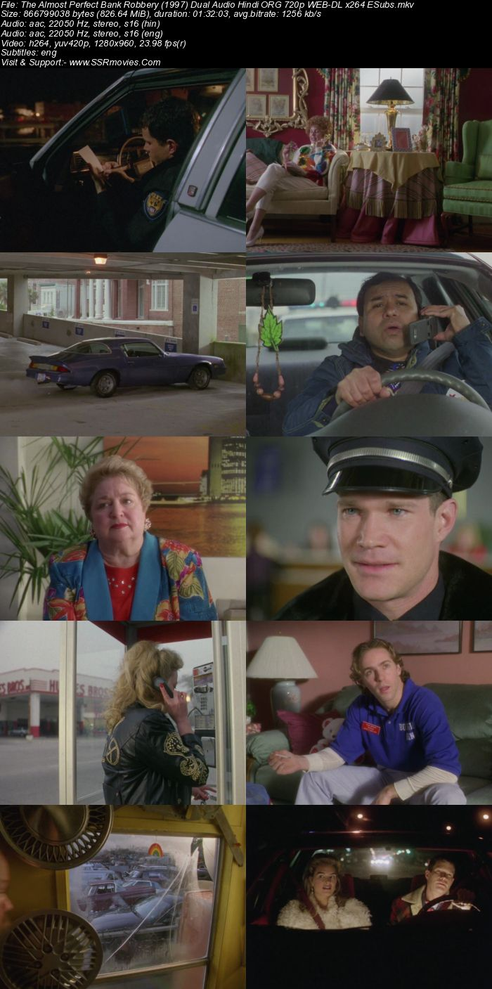 The Almost Perfect Bank Robbery (1997) Dual Audio Hindi 720p WEB-DL 800MB Full Movie Download