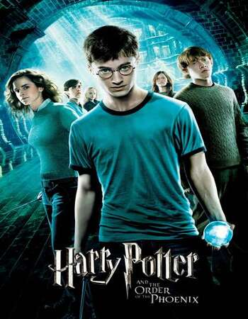 Harry Potter and the Order of the Phoenix 2007 English 720p BluRay 1GB ESubs