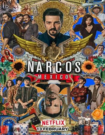 Narcos: México S02 Complete Dual Audio Hindi 720p WEB-DL 3.6GB ESubs Download