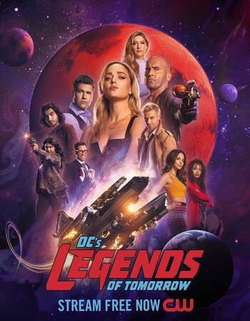 DCs Legends of Tomorrow S07 Complete 720p WEB-DL x264 ESubs