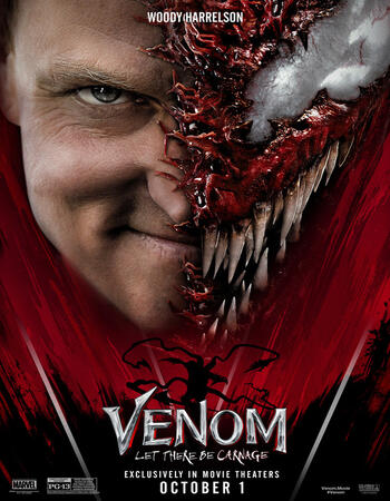 Venom Let There Be Carnage (2021) Dual Audio Hindi 300MB HDTS 480p Download