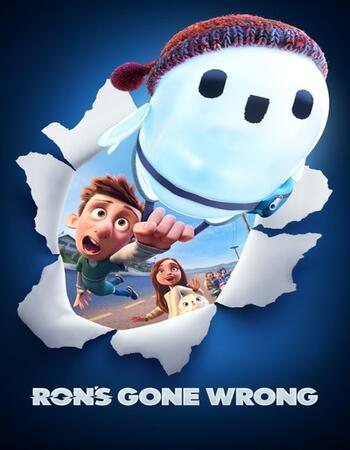 Rons Gone Wrong 2021 English 720p HDCAM 900MB Download