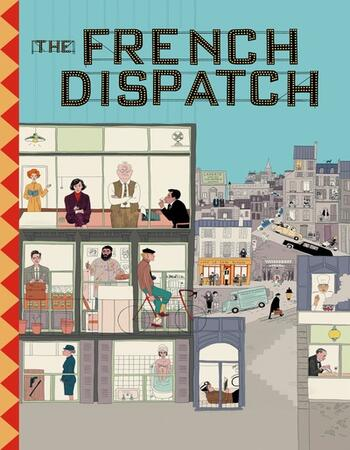 The French Dispatch 2021 English 720p HDCAM 950MB Download