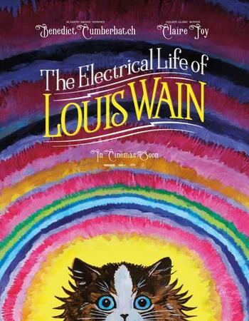 The Electrical Life of Louis Wain 2021 English 720p HDCAM 950MB Download